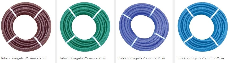 Corrugato impianti elettrici speciali ld solutions - Colori cavi elettrici casa ...
